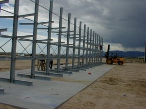 cantilevers installed near Denver CO